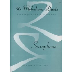 30 Melodious Duets - Saxophone