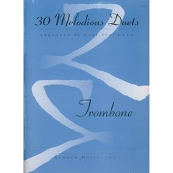 30 Melodious Duets - Trombone
