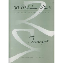 30 Melodious Duets - Trumpet