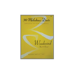 30 Melodious Duets - Woodwind  (Flute & Clarinet)