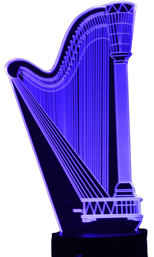 View larger image of 3D Concert Harp LED Lamp