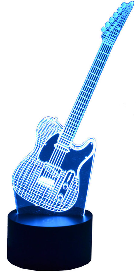 View larger image of 3D Electric Guitar LED Lamp