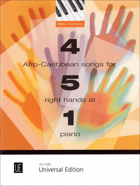 View larger image of 4 Afro Caribbean Songs for 5 Right Hands at 1 Piano