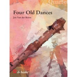4 Old Dances - Van der Roost (recorder quartet)