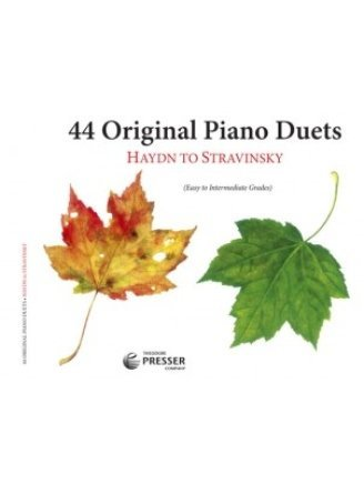 View larger image of 44 Original Piano Duets - Haydn To Stravinsky (1P4H)