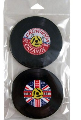 View larger image of 45 Records Coaster Set - 4 Pack