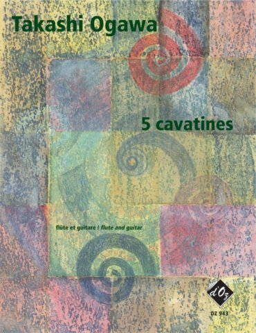 View larger image of 5 Cavatines (Ogawa) - Guitar & Flute Duet