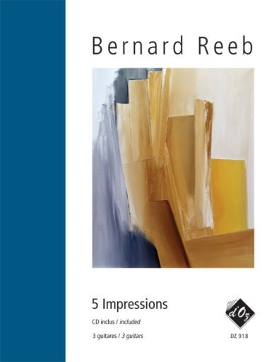 View larger image of 5 Impressions (CD Included) (Reeb) - Guitar Trio