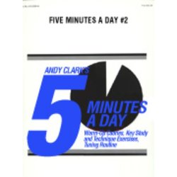 5 Minutes A Day 2 - Score & Parts, Grade 2