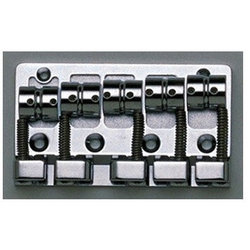 5-String Bass Bridge - Black
