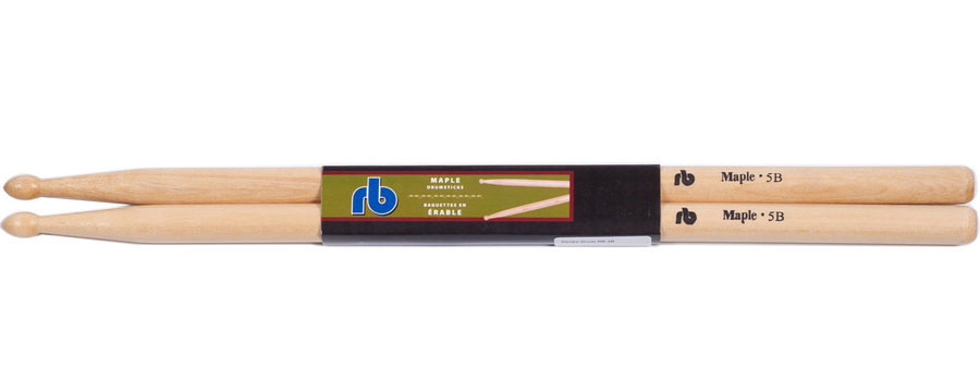 View larger image of 5B Maple Drum Sticks - Wooden Tip