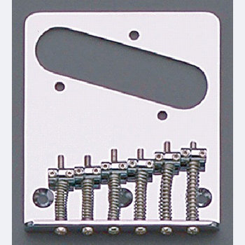 View larger image of 6 Saddle Import Bridge for Telecaster - Chrome