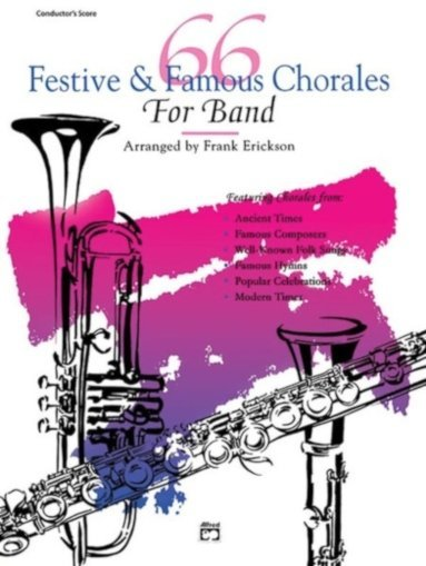 View larger image of 66 Festive & Famous Chorales - Clarinet 2