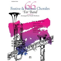 66 Festive & Famous Chorales for Band - Conductor
