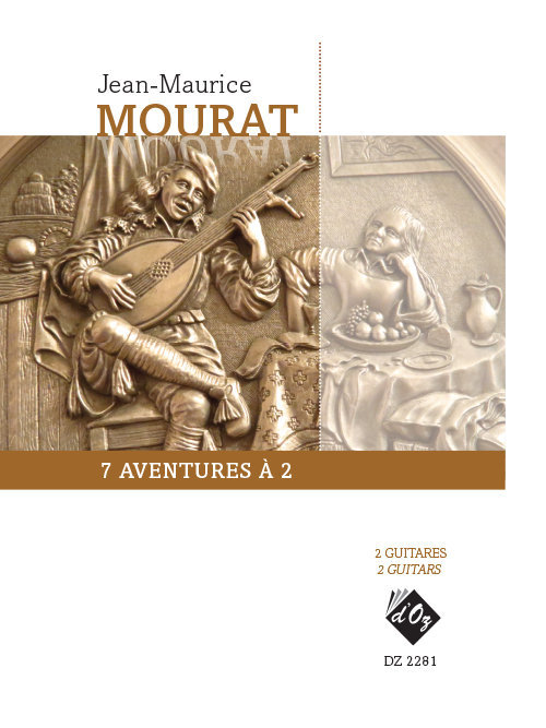View larger image of 7 Aventures A 2 (Mourat) - Guitar Duet