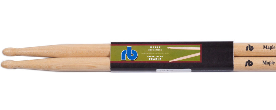 View larger image of 7A Maple Drum Sticks - Wooden Tip