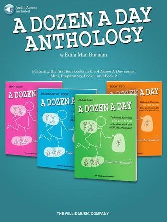 View larger image of A Dozen A Day Anthology w/Online Audio