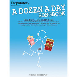 A Dozen a Day Songbook – Preparatory Book
