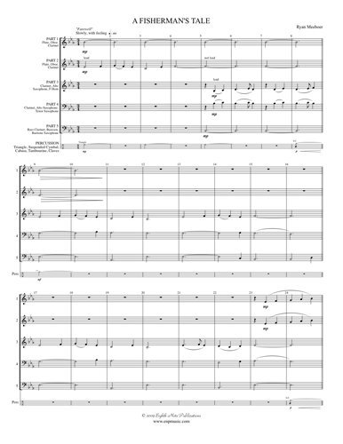 View larger image of A Fisherman's Tale (Flexible Woodwind Ensemble)