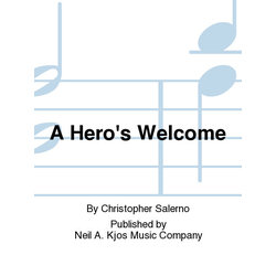A Hero's Welcome - Score & Parts, Grade 4