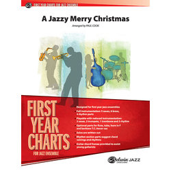 A Jazzy Merry Christmas - Score & Parts,Gr.1
