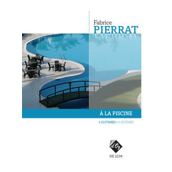 A La Piscine (Pierrat) - Guitar Trio
