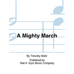 A Mighty March - Score & Parts, Grade 4.5