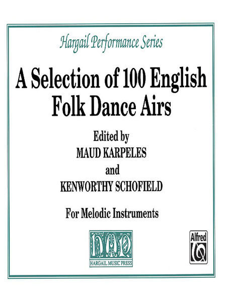 View larger image of A Selection of 100 English Folk Dance Airs