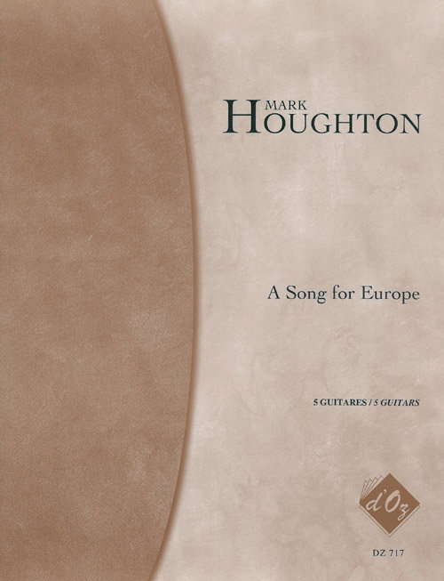 View larger image of A Song For Europe (Houghton) - Guitar Quintet