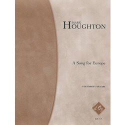 A Song For Europe (Houghton) - Guitar Quintet