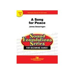 A Song for Peace - Score, Grade 0.5