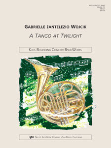 View larger image of A Tango at Twilight - Score & Parts, Grade 2.5
