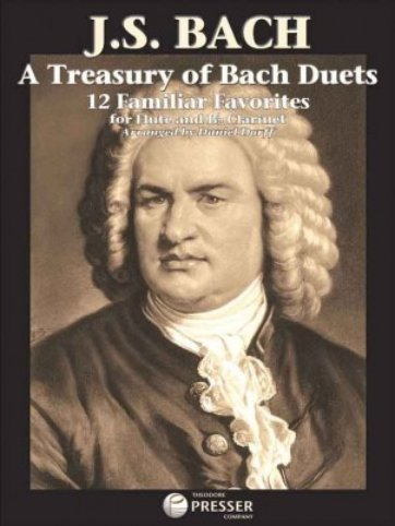 View larger image of A Treasury of Bach Duets for Flute & Clarinet