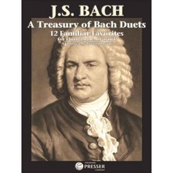 A Treasury of Bach Duets for Flute & Clarinet