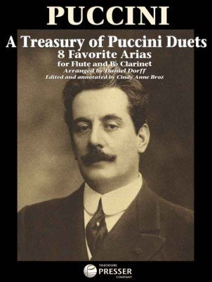 View larger image of A Treasury Of Puccini Duets - 8 Favorite Arias For Flute & Clarinet