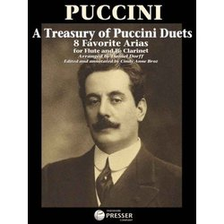 A Treasury Of Puccini Duets - 8 Favorite Arias For Flute & Clarinet
