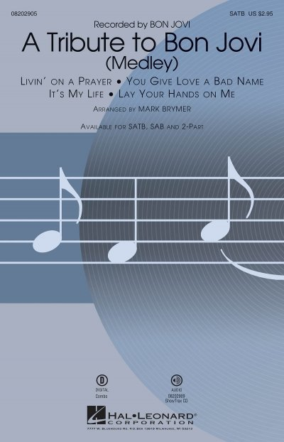 View larger image of A Tribute to Bon Jovi (Medley) - ShowTrax CD