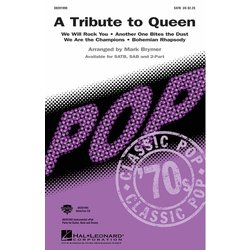 A Tribute To Queen (Medley) - SATB, Parts