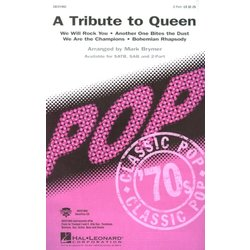 A Tribute To Queen (Medley) - Showtrax CD