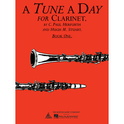 A Tune A Day for Clarinet - Book 1