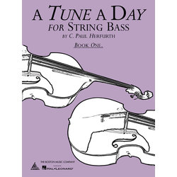 A Tune A Day For String Bass - Book 1
