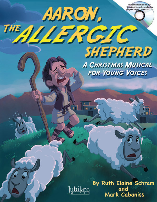 View larger image of Aaron The Allergic Shepherd - Teacher Book and CD