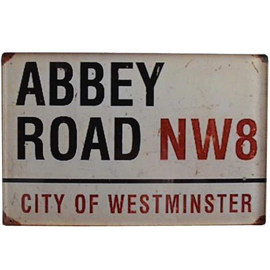 View larger image of Abbey Road NW8 Vintage Road Sign Magnet