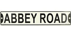 View larger image of Abbey Road Street Sign - 24x5