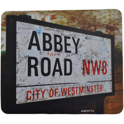 Abbey Road Vintage Sign Coaster