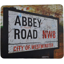 Abbey Road Vintage Sign Mouse Pad