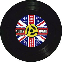 Abbey Road Vinyl Coaster