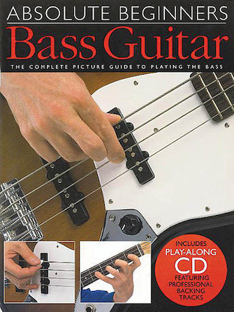 View larger image of Absolute Beginners – Bass Guitar w/CD
