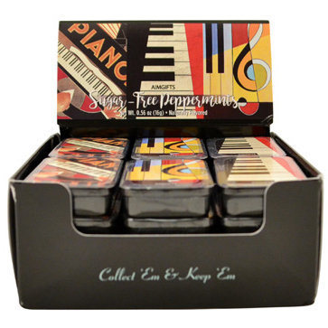 View larger image of Abstract Piano Mint Tin