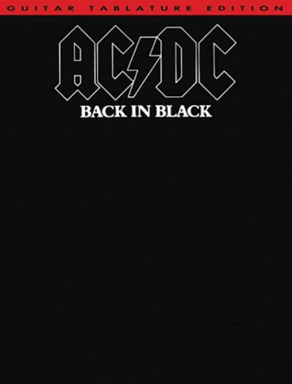 View larger image of AC/DC – Back in Black